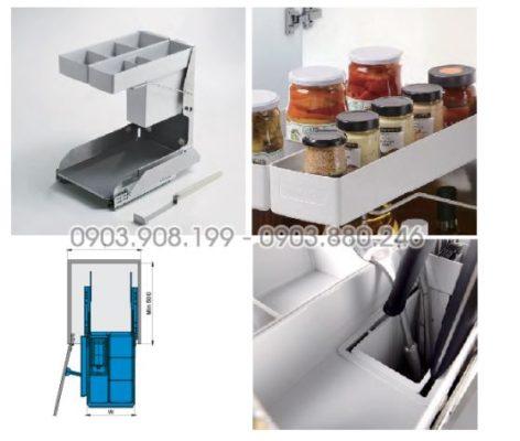 Kệ gia vị dụng cụ nổi bật bằng chất liệu inox 304